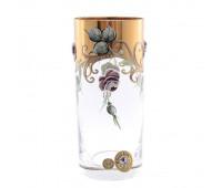 Роза Лепка набор стаканов 300мл 6штук