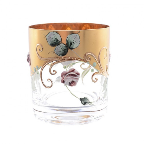 Роза Лепка набор стаканов 280мл 6штук