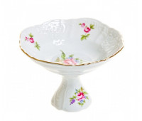 Бернадотт Полевой цветок ваза на ножке 19см