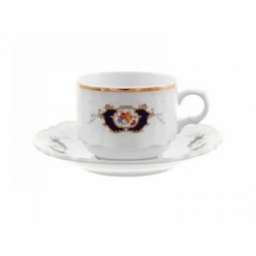 Бернадотт Синий Глаз Набор 6 чашек/6 блюдец 250мл