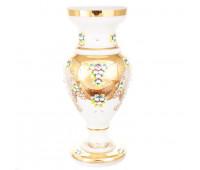 Белая Лепка ваза для цветов 50см