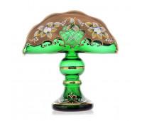 Зеленая Лепка салфетница 20 см 23513