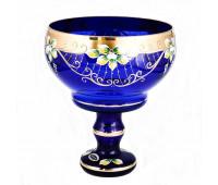 Синяя Лепка Star ваза для фруктов 26см