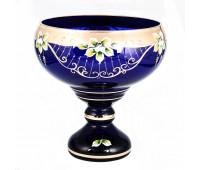 Синяя Лепка Star ваза для конфет 20см