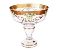 Лепка Золотая ваза для фруктов 26см