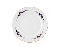 Бернадотт Синие Вензеля набор тарелок 17см 6штук