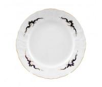 Бернадотт Синие Вензеля набор тарелок 19см 6 штук