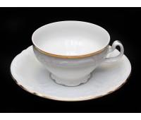 Бернадот Белый Набор 6 чашек / 6 блюдец 220мл