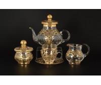 Богемные Узоры чайный сервиз на 6 персон 15 предметов
