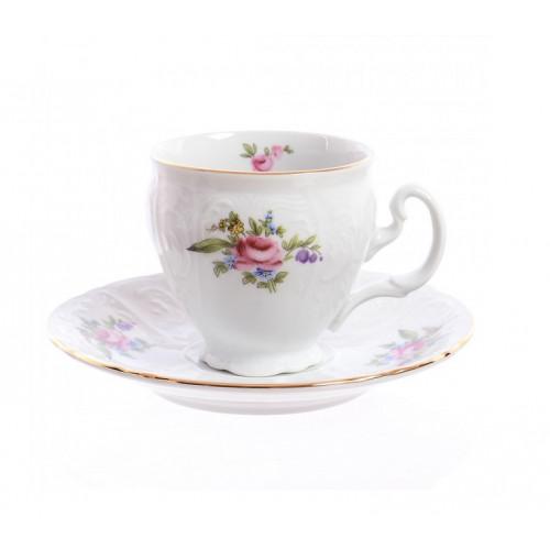Бернадотт Полевой цветок набор 6 чашек/6 блюдец 90мл