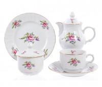 Бернадотт Полевой цветок сервиз чайный на 6 персон 22 предмета