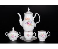 Бернадотте Полевой цветок сервиз кофейный на 6 персон из 15-ти предметов