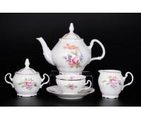 Бернадотте Полевой цветок сервиз чайный на 6 персон из 15-ти предметов