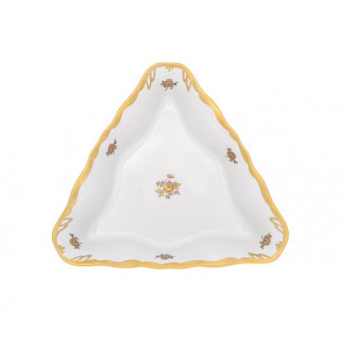Роза Корона салатник треугольный 19см