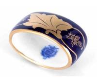 "Веймар ""Кленовый Лист Синий 819 декор"" кольцо для салфетки"