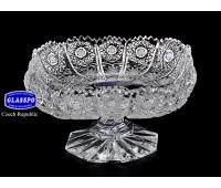 Хрусталь Снежинка Glasspo ваза для лимона 12см