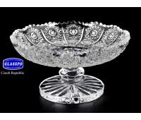 Хрусталь Снежинка Glasspo ваза для лимона 11см