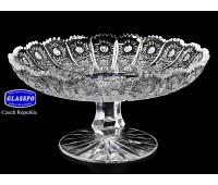 Хрусталь Снежинка Glasspo ваза для конфет 18см