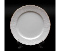 Бернадот Белый Набор тарелок 25см из 6шт