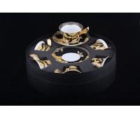 """Rosenthal Versace """"Ванити"""" набор чайных пар 220мл из 6ти штук 12 предметов"""