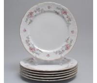 Бернадот Дикая Роза набор тарелок 19см закусочных 6 штук
