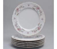 Бернадот Дикая Роза набор тарелок 25см подстановочных 6 штук