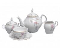 Бернадот Дикая Роза сервиз чайный на 6 персон 15 предметов