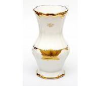 """Веймар """"Кленовый Лист Белый 408"""" ваза для цветов 25см"""