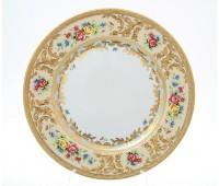 "Falken Porselan ""Виена Крем Голд"" набор тарелок 26,5см 6штук"
