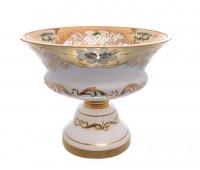 Белая Лепка ваза для фруктов 26см