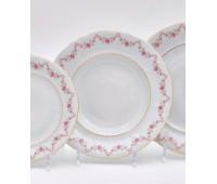 Леандер Соната 158 набор тарелок 23см глубоких 6 штук