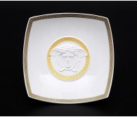 "Rosenthal Versace ""Горгона Белая"" Салатник 18 см 1шт"