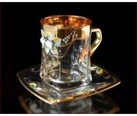 Лепка Золотая чайная пара 250мл