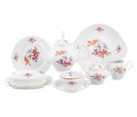 Бернадотт Полевой цветок сервиз чайный на 12 персон 42 предмета