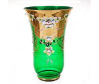 Зеленая Лепка ваза для цветов 30см 12024