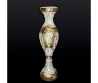 Белая Лепка E-V ваза для цветов 110см