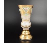 Белая Лепка ваза для цветов 40см. Матовая