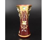 Красная Лепка E-V ваза для цветов 22см
