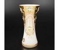 Белая Лепка E-V ваза для цветов 22см