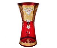 Красная лепка ваза для цветов 40см