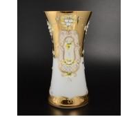 Белая Лепка ваза для цветов 40см