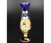 Синяя Лепка E-S ваза для цветов 24см