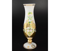Белая Лепка ваза для цветов 24см