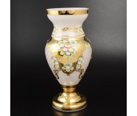Белая Лепка E-V ваза для цветов 35см