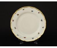 АГ 852 Мейсенский Полевой Цветок набор тарелок 25см подстановочных из 6ти шт