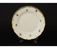АГ 852 Мейсенский Полевой Цветок набор тарелок 19см закусочных из 6ти шт