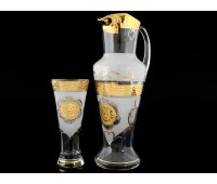 Версаче Лев набор кувшин и 6 стаканов Испан