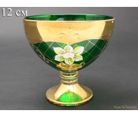 Зеленая Лепка B-P ваза для варенья 12см