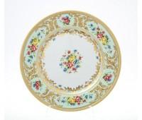 "Falken Porselan ""Виена Целадон Голд"" набор тарелок 21см закусочных 6 штук"