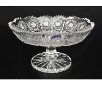 Хрусталь Снежинка Glasspo ваза для конфет 16см